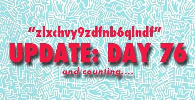 One Hundred Days: Day Seventy-Eight